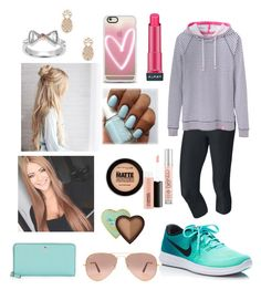 """""""Cheridan-18"""" by smithfamily4 ❤ liked on Polyvore featuring NIKE, Casetify, Almay, Sole Society, Joules, Ray-Ban, Kate Spade, Urban Decay, Maybelline and MAC Cosmetics"""