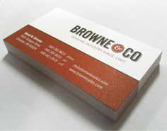 Browne & Company Business Card
