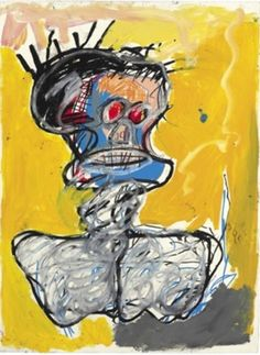 Jean-Michel Basquiat, Untitled (Head), 1982