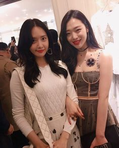 Sulli, YoonA, and Min Hyo Rin attend Dior event http://www.allkpop.com/article/2017/02/sulli-yoona-and-min-hyo-rin-attend-dior-event