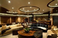 Luxurious basement