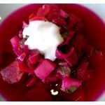 Swiss chard soup? Extremely healthy language mess.