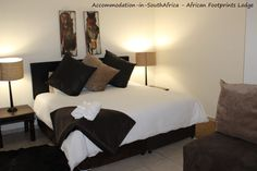 Bloemfontein African Footprints Lodge. African Footprints Lodge accommodation.  Lodges in Bloemfontein.