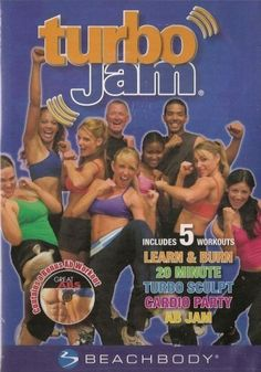 TurboJam: 5 Rockin' Workouts (BeachBody) Hardcover ~ Chalene Johnson, http://www.amazon.com/dp/B001D6WI64/ref=cm_sw_r_pi_dp_EPfYrb1HG174T