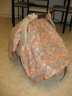 Absolutely love this project. When I help my daughter, I get frustrated with the blanket that lays over the cars eat handle, this project provides the blanket cover the baby needs and keeps the handle grip free-n-clear for safer carrying.