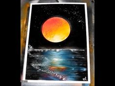 How to Spray Paint Art - Planet Reflections FULL TUTORIAL Give it a try! The paint i use is an oil based gloss and the paper is a glossy card like photo pap. Spray Paint Art, Spray Painting, Glossier, Learn To Paint, Airbrush, Planets, Reflection, Tech, Make It Yourself