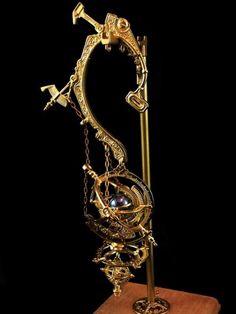 Steampunk and Junk — Gimmel Garden Cute Jewelry, Jewelry Accessories, Steampunk Clothing, Steampunk Fashion, Fantasy Jewelry, Dieselpunk, Steam Punk, Jewelery, Bling