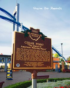 Cedar Point Sandusky Ohio Lake Erie Shores and Islands Rollercoasters