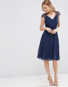 ASOS Kate Lace Midi Dress