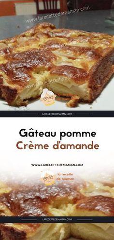 Almond Cream Cake – The most beautiful recipes Cake Filling Recipes, Tart Recipes, Apple Recipes, Sweet Recipes, Köstliche Desserts, Delicious Desserts, Dessert Recipes, Almond Cream, Cake Fillings