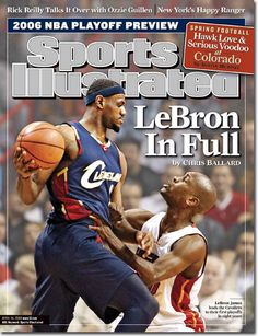 LeBron James Cleveland Cavaliers | On the Cover: Lebron James, Basketball, Cleveland Cavaliers