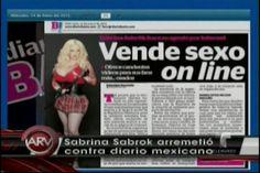 Modelo Que Vende Videos Eróticos Online Se Ofendió Por Publicación De Periódico Mexicano #Video