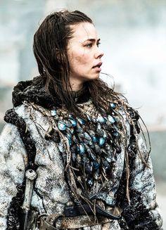 Birgitte Hjort Sørensen in'Game of Thrones' (2011). x