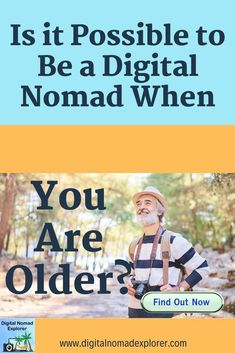 It's never too late to be a travel and experience the world. Whether you always wanted to be a digital nomad or you have the time now to become one, his article covers some great ideas to help. Check it out! Travel Jobs, Work Travel, Travel Ideas, Travel Inspiration, Job Work, Digital Nomad, Online Work, Virtual Assistant, Work Abroad
