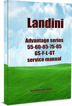 manual landini 8860