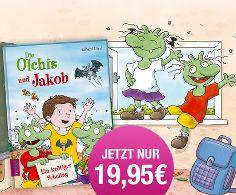 Unser personalisiertes Olchi-Schulbuch mit Widmung gibt es jetzt zum Aktionspreis – das passende Geschenk für einen krötig-guten Schulstart! #Schulanfang #Geschenk #Schulbuch #Olchis