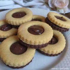 Italian Cookie Recipes, Italian Cookies, Italian Desserts, Mini Pastries, Sweet Pastries, Fancy Desserts, Cookie Desserts, Cake Recipes, Dessert Recipes