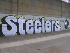 pittsburgh steelers graffiti