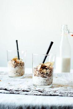 Granola & Homemade Macadamia Almond Milk #recipe #vegan #glutenfree #breakfast
