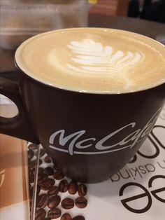 Daily fix coffee art
