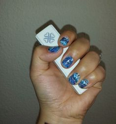 Marble me blue