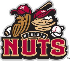 Modesto Nuts | 26 Of The Most Ridiculous Minor League Baseball Logos You'll Ever See