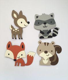 Animales del bosque set 4
