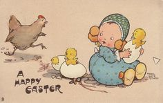Easter card by Mabel Lucie Attwell...too cute