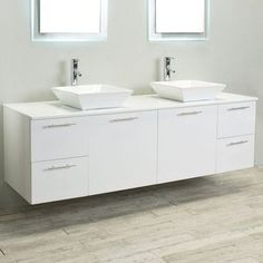 "Eviva Luxury 72"" Bathroom Cabinet Vanity Base Base Finish:"