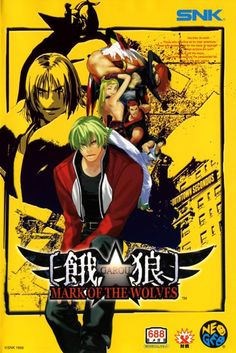 Garou : Mark of the Wolves - Neo Geo