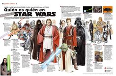 El Descanso del Escriba: Infografia de personajes de Star Wars
