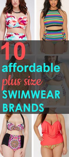 Affordable Plus Size Swimwear Brands You Should Know About