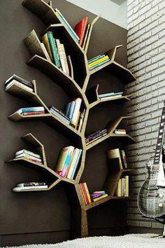 Book shelves...  Like!