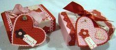 Valentine matchboxes - bjl