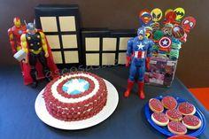 Fiesta temática.  Cumpleaños Superhéroes. Inspiración.  Ideas. Diy.