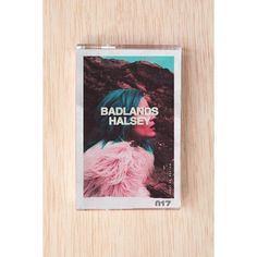 Halsey - Badlands Cassette Tape ($12) ❤ liked on Polyvore featuring home, home decor, office accessories, blue, blue tape, music tapes и colored tape