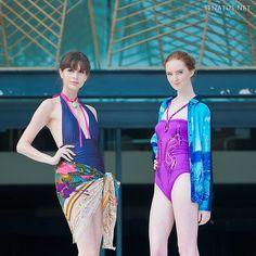 Gnossem Fashion Showcase at FTV Beach Party 2013 Singapore | SENATUS News | SENATUS Ylla necklace (left) available on Gnossem: http://www.gnossem.com/women-s/ylla-necklace-in-green-black.html