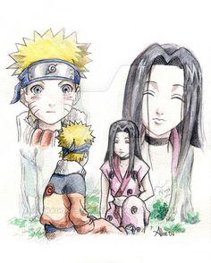 Naruto and Haku by dragonfly-world