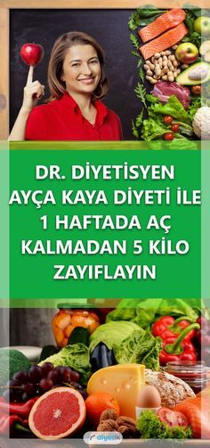 Ayça Kaya Diyeti ile 1 Haftada 5 Kilo Zayıflama – Diyetik You can reach the list of healthy diet prepared by Dietitian Ayça Kaya which weakens 5 kilos in 1 week. Diet application, tips and all the details in our article. Nutrition Education, Health Diet, Health And Nutrition, Diet Plans To Lose Weight, How To Lose Weight Fast, Kaya, Diet Recipes, Healthy Recipes, Le Diner