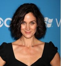 Carrie-Anne Moss of 'The Matrix' trilogy is the latest star to join 'A.A Jessica Jones'. Carrie Anne Moss, Jessica Jones, Carry On, Join, It Cast, Couch, Actresses, Star, Celebrities