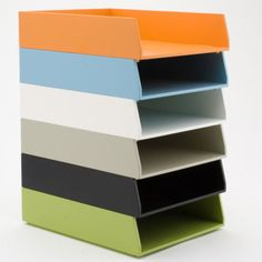 See Jane Work Basic Letter Trays - contemporary - desk accessories - See Jane Work