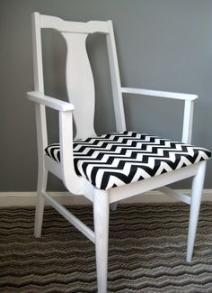I need to hit the thrift shores because I'm obsessed with finding a chair to makeover for my bedroom