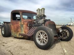 Rat Rod of the Day! - Page 94 - Rat Rods Rule / Undead Sleds - Hot Rods, Rat Rods, Beaters & Bikes. Rat Rod Cars, Hot Rod Trucks, Cool Trucks, Big Trucks, Chevy Trucks, Pickup Trucks, Cool Cars, Truck Drivers, Dually Trucks