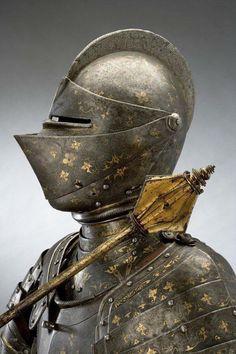 Royal helmet of swedish king Eric XIV, early 16th century.
