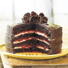 Easy Black Forest Cake Recipe | MyRecipes.com
