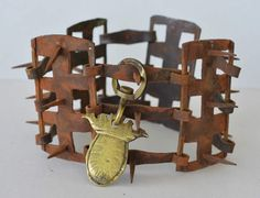 antique dog collars - Google Search   this is another one very specifically meant to protect the dog from harm.... also theft, many antique collars were padlocked on.