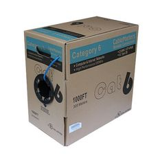 Cable Matters 1000ft Bulk Cat6 Cable UTP Solid In-Wall Rated (CM) 550MHz 23AWG in Blue by Cable Matters. $149.95. Overview Category 6 cable, commonly referred to as Cat6, is a cable standard for Gigabit  Ethernet and other network protocols. This cable provides performance of up to  550 MHz and is suitable for 10BASE-T, 100BASE-TX (Fast Ethernet), 1000BASE-T /  1000BASE-TX (Gigabit Ethernet) and 10GBASE-T (10-Gigabit Ethernet). Our Cat6  bulk cables are used by some majo...