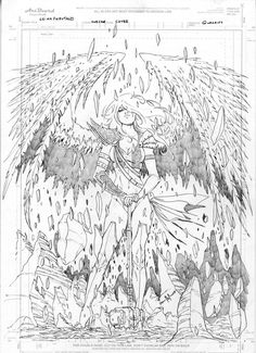 - My page: - page: - page: - Official Website: www.mikedebalfo.com Finished pencils for a cover I recently did for Fathom: The Elite Saga #3 with Aspen Comics which hits stores this Wednesday. Late...
