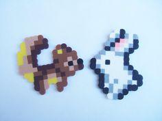 Bunny And Squirrel Perler Bead Set