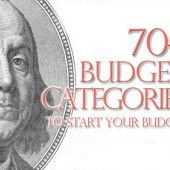 70+ personal budget categories to start your budget